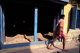 on foot stock photography | India, Cochin, Spice warehouse, image id 7-103-34