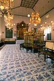 inside stock photography | India, Cochin, Jewish Synagogue, Mattancherry, image id 7-109-32