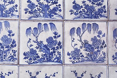 image 7-111-18 Art, Chinese tiles