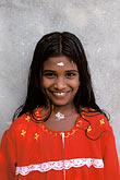 coast stock photography | India, Kerala, Young girl, portrait, image id 7-137-22