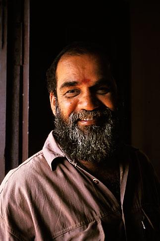 image 7-151-36 India, Trivandrum, Guru Balachandra Nair, Ayurvedic healer