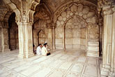 horizontal stock photography | India, Delhi, At prayer, Moti Mahal, Red Fort, image id 7-287-22