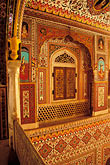 paint stock photography | India, Rajasthan, Durbar Hall, Samode Palace, image id 7-324-11