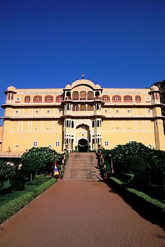 image 7-327-6 India, Rajasthan, Samode Palace