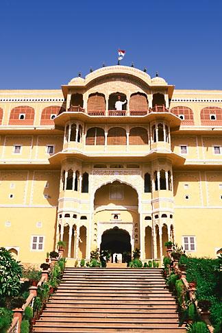 image 7-334-13 India, Rajasthan, Samode Palace