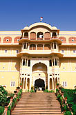 facade stock photography | India, Rajasthan, Samode Palace, image id 7-334-13