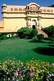 garden stock photography | India, Rajasthan, Samode Palace, image id 7-336-7