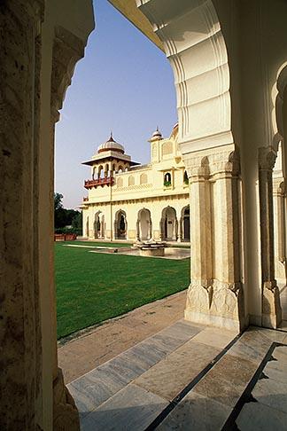 image 7-343-14 India, Jaipur, Rambagh Palace