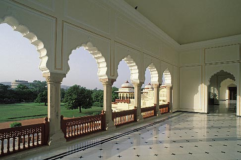 image 7-343-22 India, Jaipur, Rambagh Palace