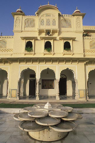 image 7-343-5 India, Jaipur, Rambagh Palace