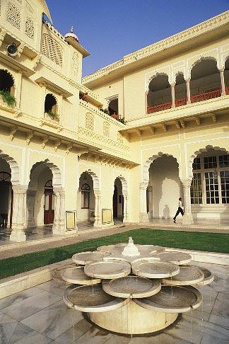 image 7-343-9 India, Jaipur, Rambagh Palace
