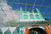 festival stock photography | India, Rajasthan, Decorated mosque, image id 7-345-6