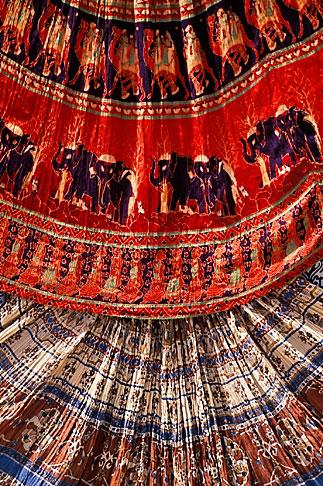 image 7-351-9 India, Jaipur, Rajasthan fabrics