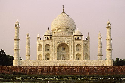 image 7-375-6 India, Agra, Taj Mahal