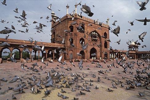 image 7-389-29 India, Delhi, Jama Masjid