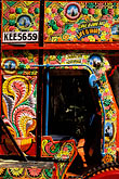 colour stock photography | India, Trivandrum, Decorated truck, image id 7-59-2