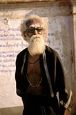 elderly stock photography | India, Tamil Nadu, Saddhu, Suchindrum Temple, Kanya Kumari, image id 7-73-6