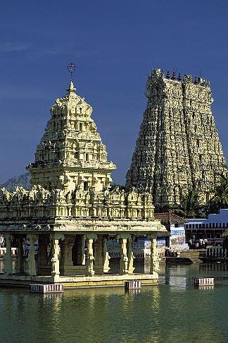 image 7-78-21 India, Tamil Nadu, Suchindrum Temple, Kanya Kumari