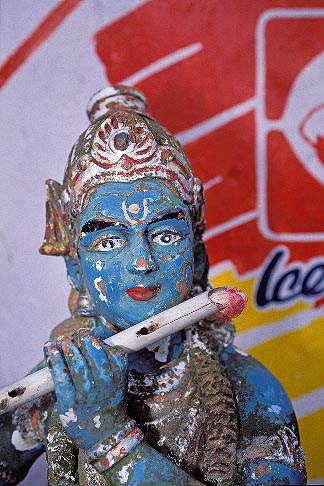 image 7-88-16 Religious Art, Statue of Krishna