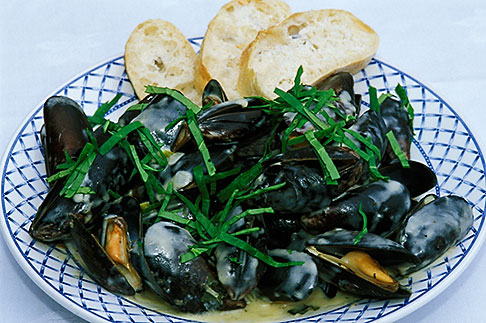 image 4-752-19 Food, Donegal mussels