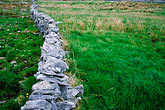 image 4-752-53 Ireland, County Clare, Stone wall on the Burren