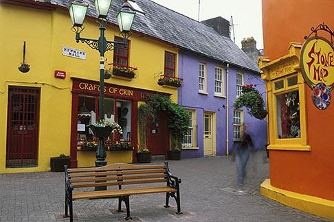 image 4-752-65 Ireland, County Cork, Kinsale, street scene
