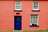 pink stock photography | Ireland, County Cork, Castletownsend, House, image id 4-900-1173