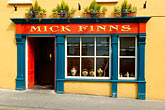restaurant sign stock photography | Ireland, County Cork, Clonakilty, Mick Finn