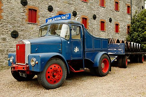 image 4-900-1381 Ireland, County Cork, Old Midleton Distillery, Lorry