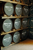 production stock photography | Ireland, County Cork, Old Midleton Distillery, Whiskey barrels, image id 4-900-1402