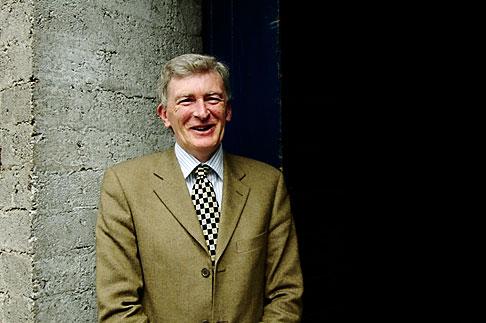 image 4-900-1410 Ireland, County Cork, Old Midleton Distillery, Barry Crockett, Master Distiller