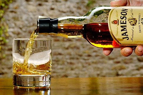 image 4-900-1441 Ireland, County Cork, Old Midleton Distillery, Jameson whiskey