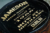 letter stock photography | Ireland, Dublin, Old Jameson Distillery, whiskey barrel, image id 4-900-1770