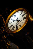 evening stock photography | Ireland, Dublin, Clock, image id 4-900-1978