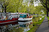 green stock photography | Ireland, Dublin, Grand Canal, image id 4-900-24