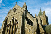 sunlight stock photography | Ireland, Dublin, Christ Church Cathedral, image id 4-900-29