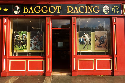 image 4-900-3 Ireland, Dublin, Baggot Racing Shop