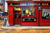 street signs stock photography | Ireland, Dublin, Temple Bar Pub, image id 4-900-40