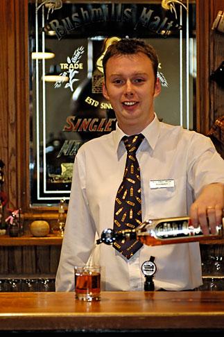 image 4-900-429 Ireland, County Antrim, Bushmills Distillery,Tasting room