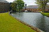 water stock photography | Ireland, County Antrim, Bushmills Distillery, image id 4-900-488