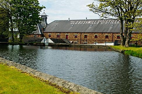 image 4-900-509 Ireland, County Antrim, Bushmills Distillery