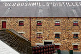 uk stock photography | Ireland, County Antrim, Bushmills Distillery, image id 4-900-532