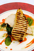 flavour stock photography | Food, Charred breast of chicken, image id 4-900-555