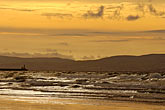 evening stock photography | Ireland, County Antrim, Portstewart Strand, image id 4-900-600