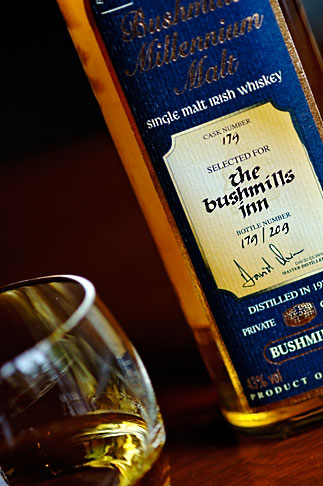 image 4-900-625 Ireland, County Antrim, Bushmills Whiskey