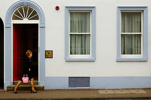 image 4-900-712 Ireland, Fermanagh, Enniskillen street scene