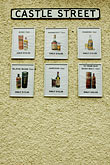 wall stock photography | Ireland, Fermanagh, Whiskey Signs, image id 4-900-737