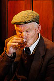 elderly stock photography | Ireland, Fermanagh, Irvinestown, Central Bar, image id 4-900-826