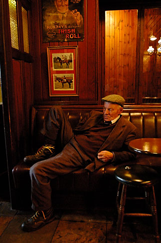 image 4-900-851 Ireland, Fermanagh, Irvinestown, Central Bar
