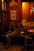 elderly stock photography | Ireland, Fermanagh, Irvinestown, Central Bar, image id 4-900-851